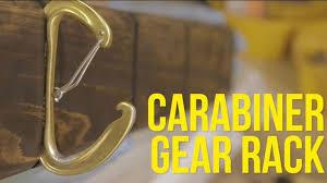 Carabiner Coat Rack