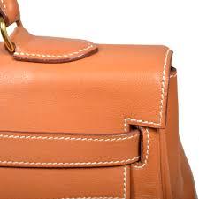hermes kelly 35 swift leather retourne mou gold gold hardware 5 kopie