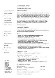 Wealth Management Resume Sample Best Of Asset Management Resume Portfolio Management Resume Portfolio