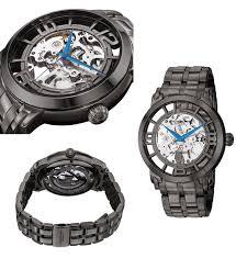 men s and women s stuhrling watches 123 for stuhrling men s winchester 44 elite watch ss strap skeletonized dial black pvd 165b2b 335b1 725 list price