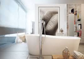 Bathrooms-Lovely-Bookshelf-and-elegant-Free-Standing-Bathtub- ...