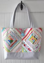Summer Sewing: 7 Quilted Tote Bag Patterns & Market Tote Bag Adamdwight.com