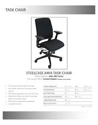 steelcase amia chair. Qty In Stock: 16. \u2039 \u203a Steelcase Amia Chair I
