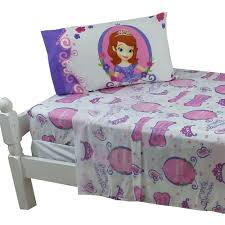 3pc disney sofia the first twin bed sheet set princess in training bedding accessories com