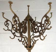 Victorian Coat Rack Victorian Style Cast Iron Coat And Hat Rack At 100stdibs 9