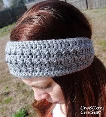 Ear Warmer Headband Crochet Pattern