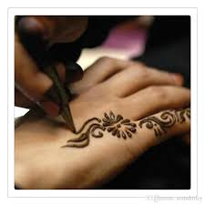 whole natural indian henna tattoo art paste temporary tattoo wedding dress makeup tools diy temporary drawing art free dhl beautiful name
