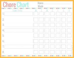 Inquisitive Free Printable Toddler Chore Chart Childrens