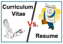 Resume Bio Data Or Cv Know The Differences