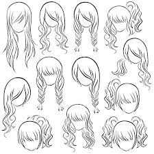 Coloring Pages Hair Hair Coloring Pages Free Hairstyle Coloring