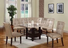 chair good looking breakfast nook black 16 top corner dinette set kitchen ideas custom dining room