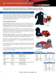 Arc Flash Clothing Rating Chart Arc Flash Protection You Need The Best Salisbury