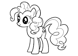 my little pony pinkie pie coloring s for kids printable free throughout