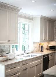 kitchens with white cabinets and backsplashes. White Kitchen Cabinets Backsplash Bast For Glass Tile . Kitchens With And Backsplashes