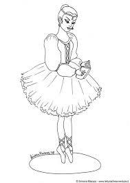 Kleurplaat Ballerina Afb 12348 Images