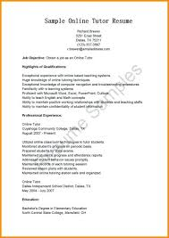 Online Resume Example New E Learning Resume Example Primeflightsdirtysecrets Resume Examples