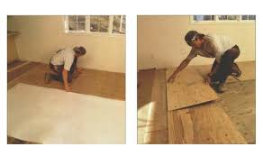 synopsis flooring specialist don bollinger describes the process of installing hardwood flooring over a concrete slab that contains a radiant floor heating