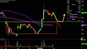 Pacific Gas Electric Co Pcg Stock Chart Technical Analysis For 11 12 19