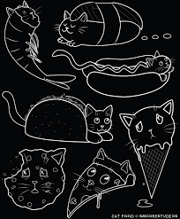 Customink Com Size Chart Cat Food T Shirt Black Samantha Moore