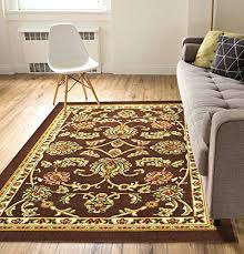 thin area rugs awesome non skid slip rubber back antibacterial 5 x 7 area rug throughout