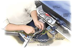 wiring your trailer hitch 4 wire trailer wiring at Towing Wiring