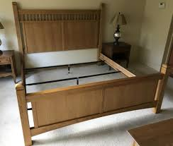 King Size Mission Style Bed Frame by Stanley
