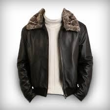 men s brown leather pilot jacket fur collar free to australia new zealand