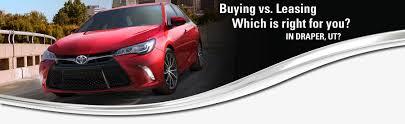 buy v lease buy vs lease information draper ut serving salt lake city karl