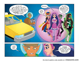 Spaced Online Dc Super Hero Girls 007 Spaced Out 2018 Viewcomic