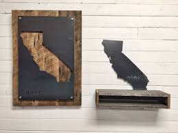hand crafted california home state