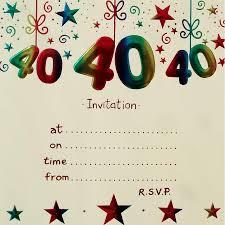 Printable 40th Birthday Card At Af21 Advancedmassagebysara
