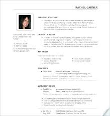 Ideal Resume Format Best Resume Format Template Top Free Templates Images About