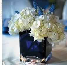 Wedding Reception Centerpieces White & Blue Flowers - The Wedding  SpecialistsThe Wedding Specialists