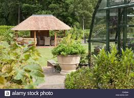The Kitchen Garden The Kitchen Garden At Rudding Park North Yorkshire Uk Summer