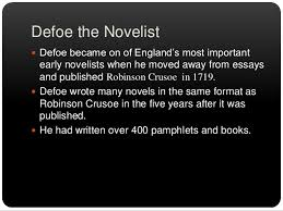 daniel defoe 8 famous books robinson crusoe