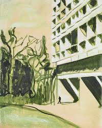 i like the symplicity of the cllours and lines peter doig british b