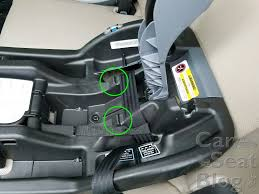 we recommend installing the regular snuglock base with lower latch connectors to avoid the potential issue with the seatbelt getting crimped in cases where