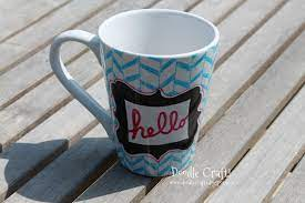 October 29, 2014 » posted by autumn » comments: Customize Your Mug With Glass Paint Markers
