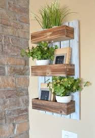 diy wooden wall planter simple and easy diy project for spring