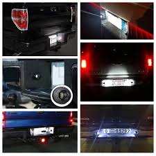 2006 Explorer Wrench Light 2x Led License Plate Light Lamp Assembly Replacement For Ford F 150 F 250 F 350 F 450 F 550 Superduty Ranger Explorer Bronco