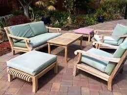 smith and hawken teak patio furniture