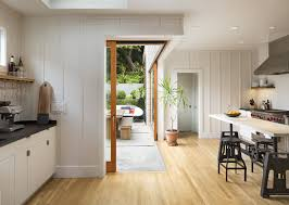 dramatic sliding doors separate. By Excavating An Inaccessible Sloping Section Of The Garden, Davis Gained Space To Insert Dramatic Sliding Doors Separate G