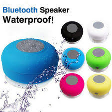 waterproof bluetooth speakers. waterproof bluetooth wireless speaker handsfree music mic suction car shower speakers t