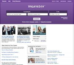 Monster Com Is One Of The Largest Online Job Search Sites 301
