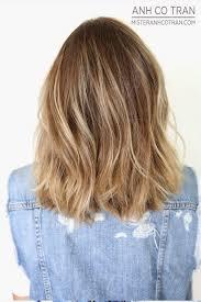 La Shoulder Length Layers Haircut Ideas Halflang Haar Kapsels