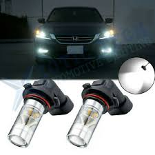 Details About Xenon White Led Drl Daytime Running Light High Beam Bulbs For Honda Accord Civic