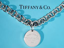details about tiffany co return to tiffany sterling silver round circle tag necklace