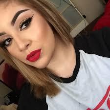 clic red lip makeup tutorial