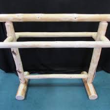 Quilt Rack - Sisters Log Furniture & Pine Quilt Rack Adamdwight.com