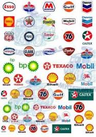 Gas Station Logo Gas Petrol Station Oil Company Logos Waterslide Decals For All